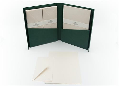 FLORAL WRTING PAPER GIFT SET 25/25 10,5X19,5 GENTLE CUT