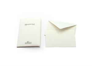 MEDIOEVALE PORTFOLIO MEDIUM SIZE 10/10 9X14 GENTLE CUT IVORY