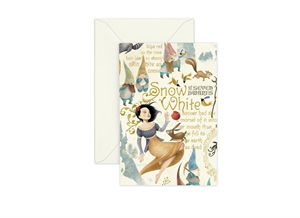 BIANCANEVE GREETING CARD